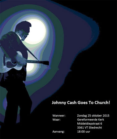Johnny Cash goes to Church