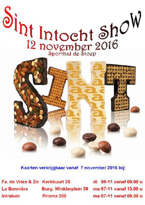 Sint Intocht Show
