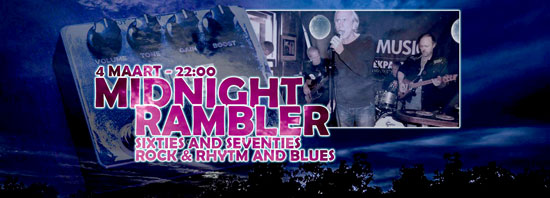 Rock 'n' Roll en Rhythm & Blues met Midnight Rambler bij Havana