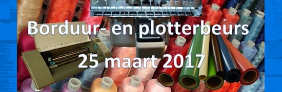 Borduur- en plotterbeurs