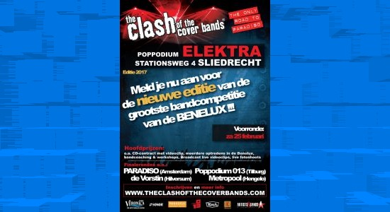 Voorrronde The Clash of the Cover Bands