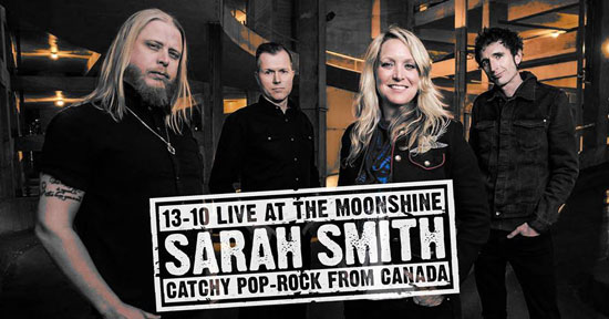 Sarah Smith in the Moonshine