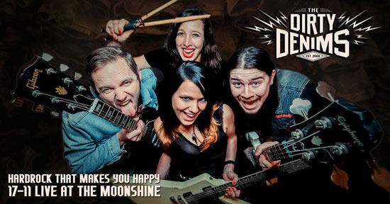 The Dirty Denims in Moonshine