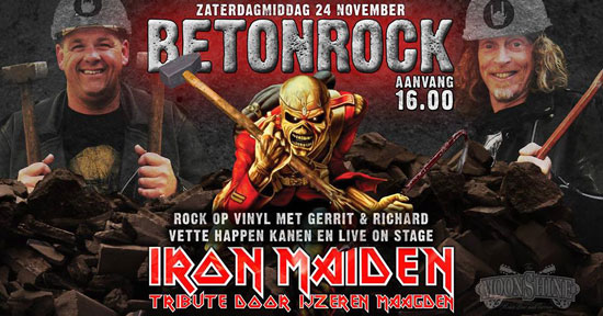 Betonrock - Iron Maiden tribute in Moonshine