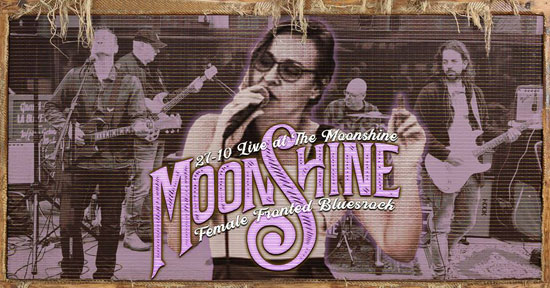 Female Fronted Bluesrock in the Moonshine