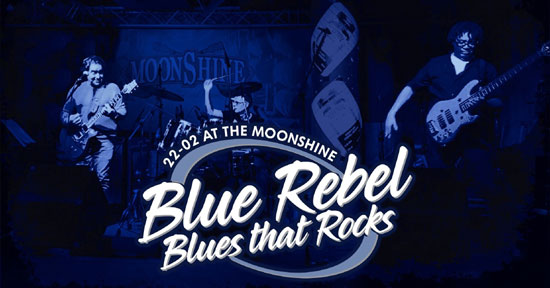 Blue Rebel in The Moonshine